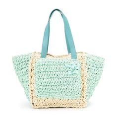 No pattern. Just inspiration. #crochet #bag #mint