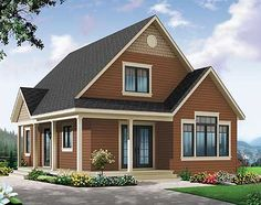 Plan 22356DR: Cottage House Plan With Expansion