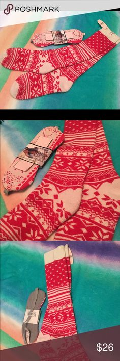 Brand New VS Fair Isle Socks & Sleep Mask💕 Victoria's Secret Fair Isle Socks Brand New and Victoria's Secret Sleep mask Brand New.  See pictures.  No trades.  No Holds lAll offers or (lowest ?'s) please use make offer button only please (reasonable offers). Thanks for looking and Happy Poshing! :) Victoria's Secret Accessories Hosiery & Socks