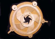 Wooden Gear Iris - by chucko @ LumberJocks.com ~ woodworking community