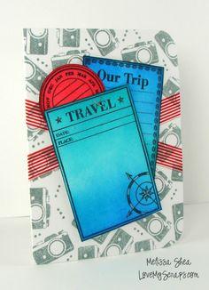 A Blog Named Hero: Travel Card