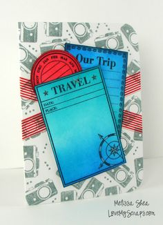 A Blog Named Hero: Travel Card