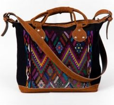 <3  Mini Isabel Huipil Weekender bag by Jessica Bercovici