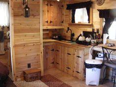 cedar from small cabincom - Small Cabin Interior Design Ideas