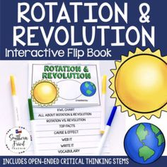 This engaging Rotation Vocabulary Activities, Science Resources, Science Lessons, Teaching Science, Science Activities, Critical Thinking Activities, Critical Thinking Skills, Thinking Stems, Whole Brain Teaching
