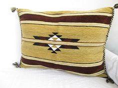 Velvet Pillow // Wowen Pillow // Lumbar pillow // by asiapillow, $50.00
