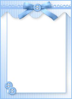 frame with blue bow and buttons, for my crafting workshop poster Clipart Baby, Frame Clipart, Baby Boy Scrapbook, Scrapbook Paper, Deco Baby Shower, Baby Boy Shower, Borders For Paper, Borders And Frames, Baby Boy Background
