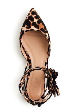 Leopard style shoe