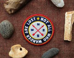 Not all who wander are lost Patch - Etsy