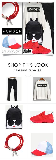 """Shein 5"" by aida-banjic ❤ liked on Polyvore featuring shein"