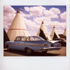 Wigwam Motel Polaroid - Holbrook, AZ Route 66