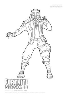Fortnite battle royale coloring page Raven Have a time to