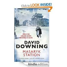 On sale today for £1.09: Masaryk Station by David Downing, 304 pages, 4.8 stars, 8 reviews. (Please LIKE and REPIN if you love daily deal #Kindle eBooks like this.)