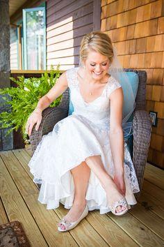 Lyndsay and Jake - Rustic Wedding Shoes