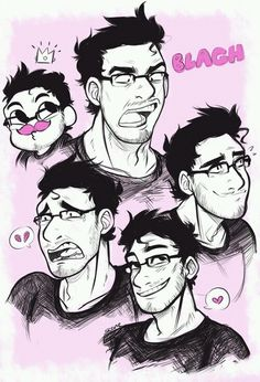 Image via We Heart It https://weheartit.com/entry/147056280 #faces #funny #markiplier