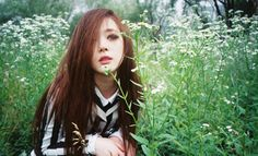 Choi Sulli from the KPOP group F(x). This pic is from RedLight album. She is the Face of the Group. She is the tallest in the group too. She is a model. She is one of my bias along with Krystal and Bora.