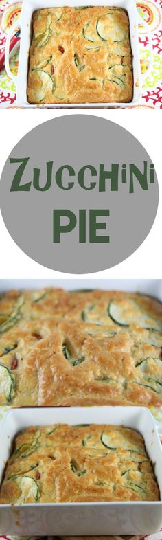 If you are looking for new zucchini ideas, how about Zucchini & Tomato Pie! It is filling enough to eat for your dinner or to complement any dinner as a side dish. Easy, healthy, and delicious!