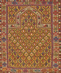 Marasali Shirvan Rug Northeast Caucasus Circa Roximately X I Bonhams Oriental Rugs And Carpets July 2016