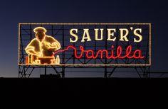 C.F. Saurer sign - Richmond VA