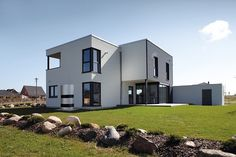 Our #Vitocal 300-A #heatpump with its #award winning #design makes a great addition to the #architecture of this modern #family #home. The state of the art #technology does not only help to protect the environment due to its high-level of operational #efficiency it will also help to reduce your heating cost. #hvac #renewables #hvactech #renewableenergy #viessmann