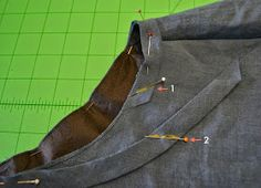 Sew Tessuti Blog - Sewing Tips & Tutorials - New Fabrics, Pattern Reviews: Tutorial: Attaching and Joining Double Fold Bias Binding