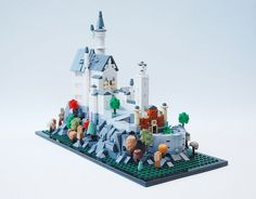 Oh my - look at the detail on this microscale Castle Neuschwanstein