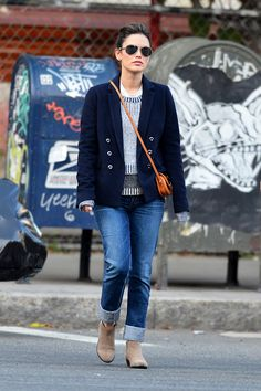 rolled jeans and ankle boots - perfect style for a tall girl who has problems finding jeans long enough.