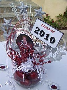 92 best graduation centerpieces tablescapes images grad parties rh pinterest com