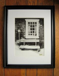 Check out this item on Etsy shop https://www.etsy.com/listing/171358891/cape-cod-winter-in-new-black-wood-frame