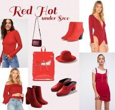2e4621dfabd Red Hot Fall Trends Under  100 Fall Lookbook