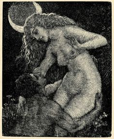 Untitled from the Thief of the moon series Norman LINDSAY Medium woodcut Norman Lindsay, Illustrations, Illustration Art, Pop Art, Design Graphique, Australian Artists, Erotic Art, Figurative Art, Dark Art
