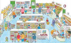 Praatplaat: de supermarkt