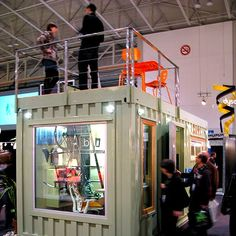 12 Ways To Use Shipping Containers As Offices, Housing and Art : TreeHugger