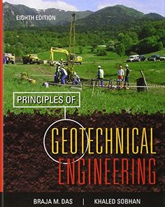 Solution Manual for Principles of Geotechnical Engineering Edition by Das - Online Library solution manual and test bank for students and teachers Foundation Engineering, Geotechnical Engineering, Electrical Engineering, Study Test, Chapter 16, Background Information, Marketing Digital, Textbook, Reading