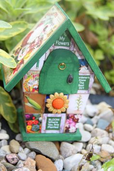 Garden Fairy Lives in the Green House