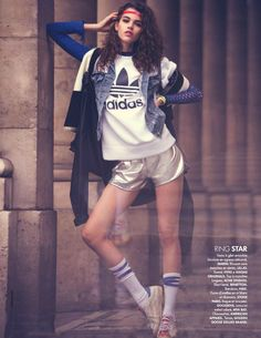 """Sportive and the City"" by David Bellemere for ELLE France 2016"
