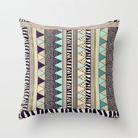 Throw Pillows by Vasare Nar | Society6