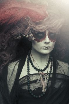 One of the best day of the dead shots I have seen.