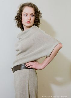 Pure & Simple Handmade Linen Dress | Knock Knock Linen