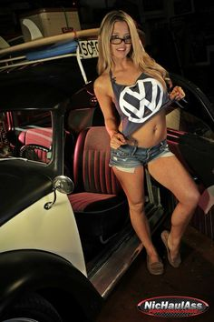 VW Beetle #beetle #tshirt #legs #sexy #vwsexy #nerdy ♠... X Bros Apparel Vintage Motor T-shirts, Volkswagen Beetle & Bus T-shirts, Great price… ♠