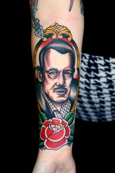 A portrait of John Steinbeck