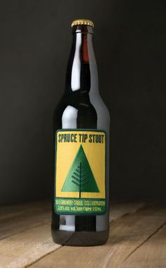 """""""Five West Coast craft brewers teamed up to create a collaboration beer that required a packaging solution that not only celebrated craft and teamwork – but also saluted the craft beer drinkers bold enough to give it a try. Spruce Tip Stout, Cool Packaging, Beer Packaging, Beverage Packaging, Spruce Tips, Canadian Beer, Web Design, Graphic Design, Beer Brands, Branding"""