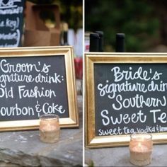 @Kirstie Studebaker these sound like perfect country drinks!
