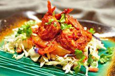 Recheado Shrimp Goan Recipes, Raw Food Recipes, Chicken Recipes, Spicy Shrimp, Prawn, Other Recipes, Tandoori Chicken, A Food, Asian