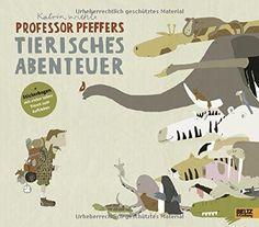 Professor Pfeffers tierisches Abenteuer: Ein Schau- und Suchbuch. Vierfarbiges Bilderbuch: Amazon.de: Katrin Wiehle: Bücher