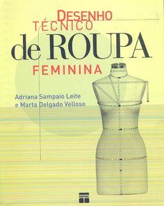 Desenho tecnico de roupa feminina