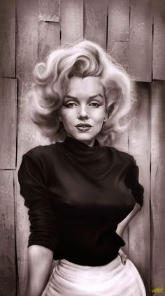 Marilyn Monroe caricature by Rafael Rivera Arte Marilyn Monroe, Marilyn Monroe Tattoo, Marilyn Monroe Artwork, Marilyn Monroe Portrait, Marilyn Monroe Drawing, Girl Face Drawing, Celebrity Caricatures, Norma Jeane, Old Hollywood