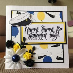 Randis hobbyverden: Studentkort tradisjonelle farger nr 1