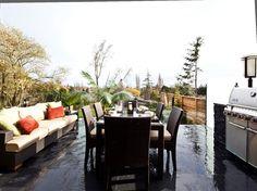 Outdoor dining room | Eden | Citta Group