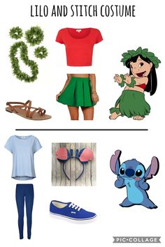 Best Garden Decorations Tips and Tricks You Need to Know - Modern Easy Disney Costumes, Cute Group Halloween Costumes, Halloween Outfits, Disney Halloween, Halloween Parejas, Lilo Y Stitch, Halloween Disfraces, Disney Fashion, Disney Outfits